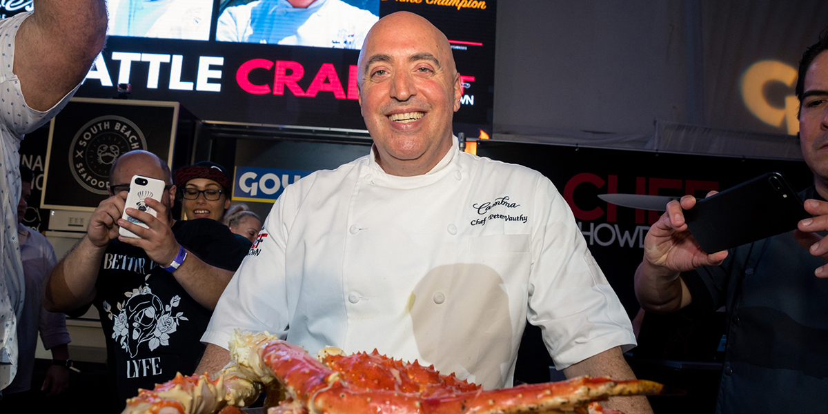 Chef Showdown Andre Bienvenu | South Beach Seafood Festival