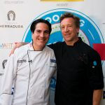 Chef Sean Brasel South Beach Seafood Festival Chef Showdown Goya Executive Chef Fernando Desa