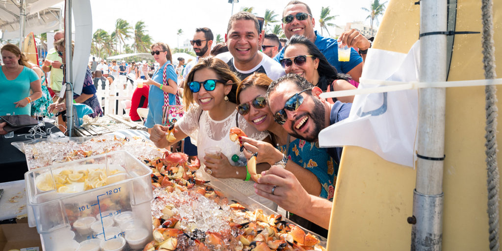 Fun in Miami Food and Wine Festival | South Beach Seafood Festival