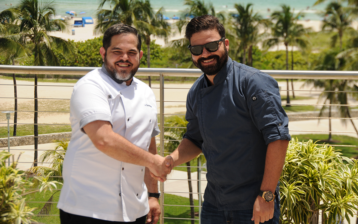 Miami Chefs Battle: Chef Julian Garriga vs. Chef Demetrios Pyliotis