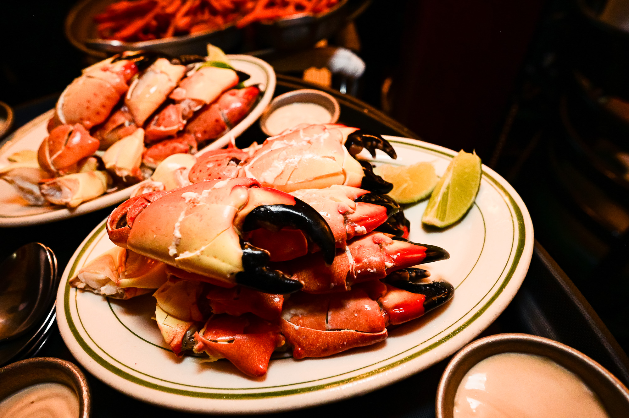 Joe's Stone Crab at An Evening At Joes